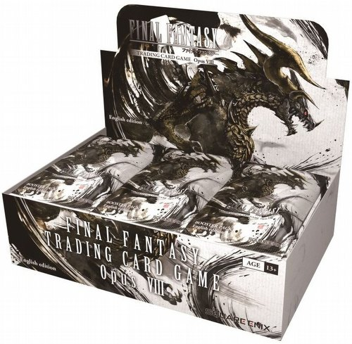 Final Fantasy: Opus VIII (Opus 8) Collection Booster Box