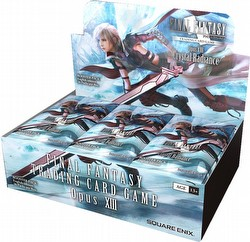 Final Fantasy: Opus XIII (Opus 13) Collection - Crystal Radiance Booster Box
