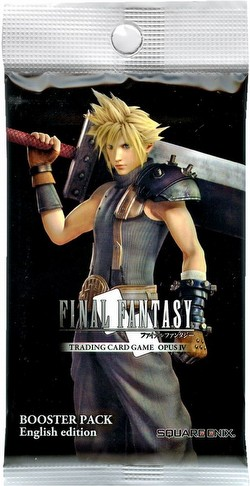 Final Fantasy: Opus IV (Opus 4) Collection Booster Pack