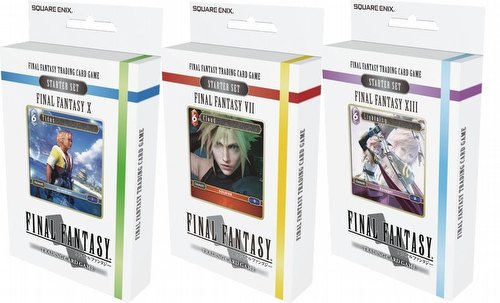 Final Fantasy: Starter Deck Set [3 decks/1 of each/WAVE 2]