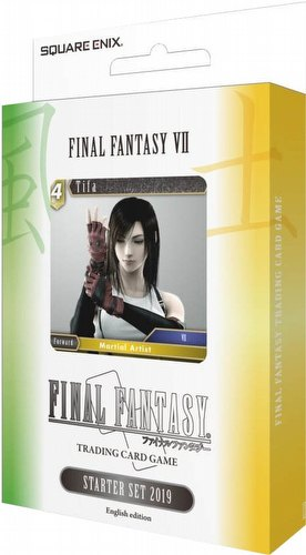 Final Fantasy: VII Tifa Starter Deck Box [6 decks/English Edition/2019]
