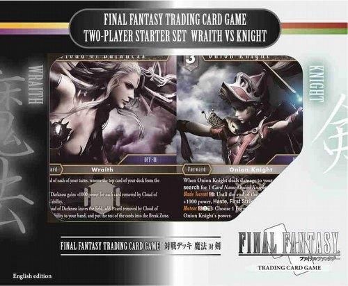Final Fantasy: Wraith Vs Knight 2-Player Starter Set [English Edition]