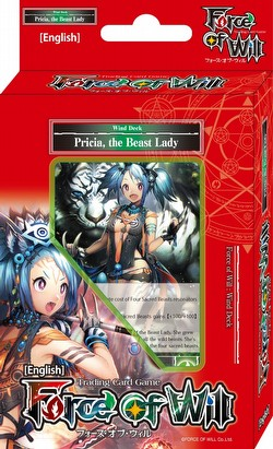 Force of Will TCG: Alice Cluster Pricia the Beast Lady Starter Deck