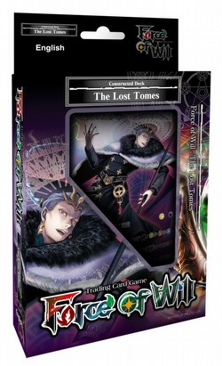 Force of Will TCG: Reiya Cluster - The Lost Tomes Starter Deck Box