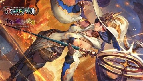 Force of Will TCG: The Millennia of Ages Play Mat