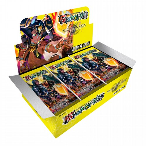 Force of Will TCG: Valhalla Cluster: New Dawn Rises Booster Box