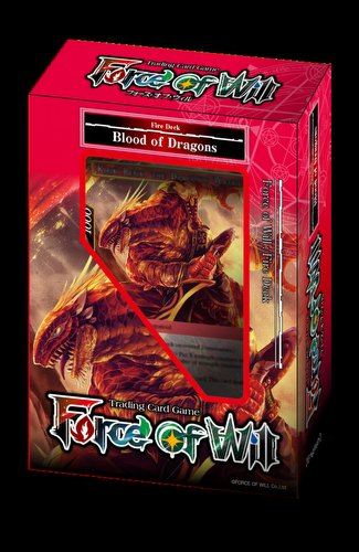 Force of Will TCG: New Legend Precipice Fire - Blood of Dragons Starter Deck