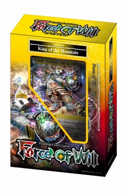 Force of Will TCG: New Legend Precipice Light - King of the Mountain Starter Deck