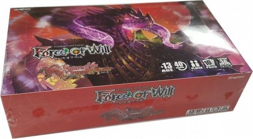 Force of Will TCG: Lapis Cluster: Return of the Dragon Emperor Booster Case [6 boxes]