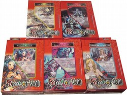Force of Will TCG: Alice Cluster Starter Deck Box