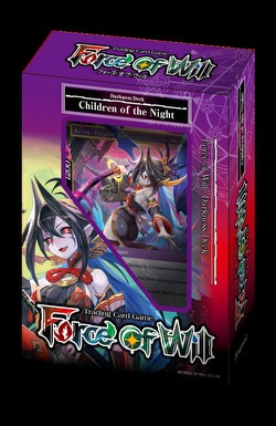 Force of Will TCG: New Legend Precipice Darkness - Children of the Night Starter Deck