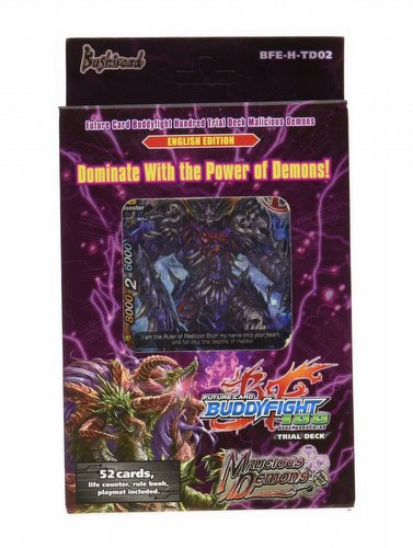 Future Card Buddyfight: Malicious Demons Trial Deck (Starter Deck)