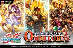Future Card Buddyfight: Assault of the Omni Lords Booster Case [BFE-H-BT03/16 boxes]