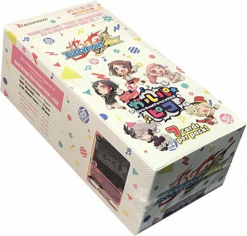Future Card Buddyfight: Ace Ult. Cross Vol. 2 BanG Dream! Girls Band Party! PICO Booster Box
