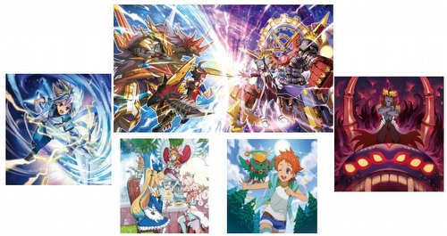 Future Card Buddyfight: Ace Booster Pack Alt. Vol. 2 - Blazing Overclash Booster Box [BFE-S-BT02A]