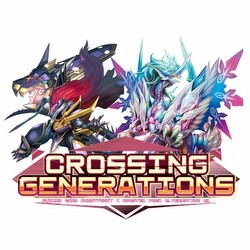 Future Card Buddyfight: Crossing Generations Booster Case [16 boxes/BFE-X-BT01A]