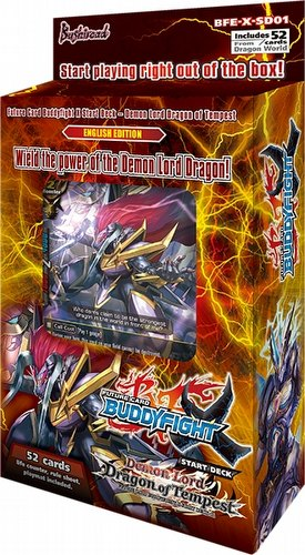 Future Card Buddyfight: Demon Lord Dragon of Tempest Starter Deck Box