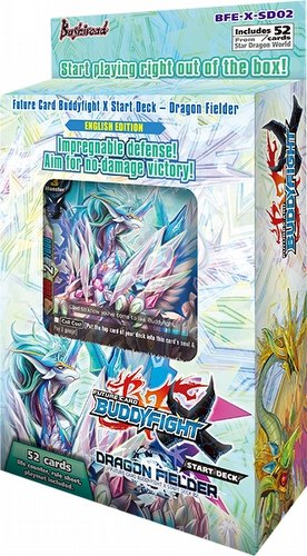 Future Card Buddyfight: Dragon Fielder Starter Deck Box