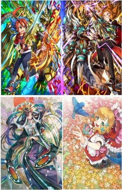 Future Card Buddyfight: Ace Special Pack Vol. 2 Glory Valiant Booster Box