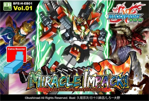 Future Card Buddyfight: Hundred - Miracle Impack Extra Booster Case [24 boxes]