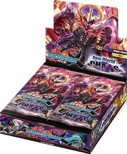 Future Card Buddyfight: New World Chaos Booster Case [16 boxes]