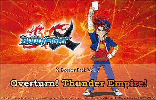 Future Card Buddyfight: Overturn! Thunder Empire! Booster Box