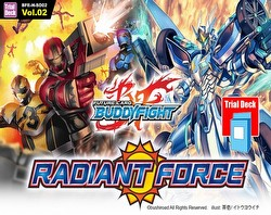 Future Card Buddyfight: Radiant Force Trial Deck (Starter Deck) Box