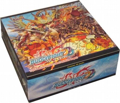 Future Card Buddyfight: Triple D Roar! Invincible Dragon Booster Box [BFE-D-BT02]