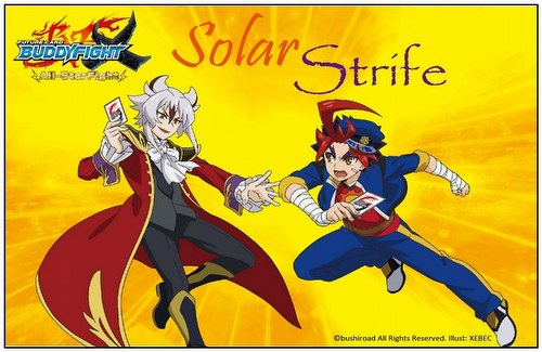 Future Card Buddyfight: Solar Strife X Booster Case [16 boxes]