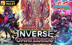 Future Card Buddyfight: Terror of the Inverse Omni Lords Booster Case [BFE-H-PP01/30 boxes]