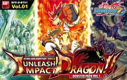 Future Card Buddyfight: Triple D Unleash! Impact Dragon Booster Box [BFE-D-BT01]