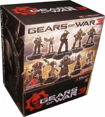 HeroClix: Gears of War 3 Gravity Feed Booster Box
