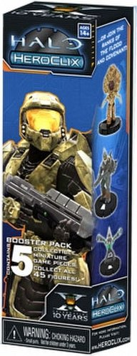 HeroClix: Halo 10th Anniversary Booster Case [20 boosters]