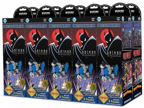HeroClix: DC Batman The Animated Series Booster Case [20 boosters]