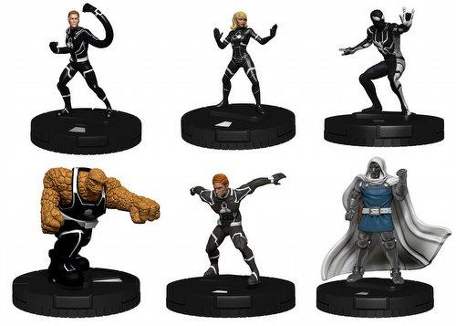 HeroClix: Marvel Fantastic Four Future Foundation Fast Forces Pack