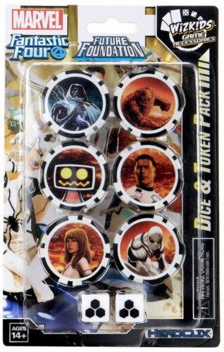 HeroClix: Marvel Fantastic Four Future Foundation Dice & Token Pack