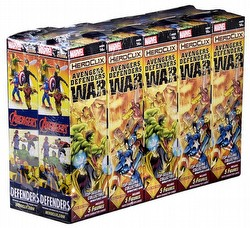 HeroClix: Marvel Avengers/Defenders War Booster Brick [10 boosters]