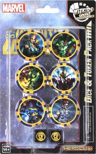 HeroClix: Marvel Avengers Infinity Dice & Token Pack