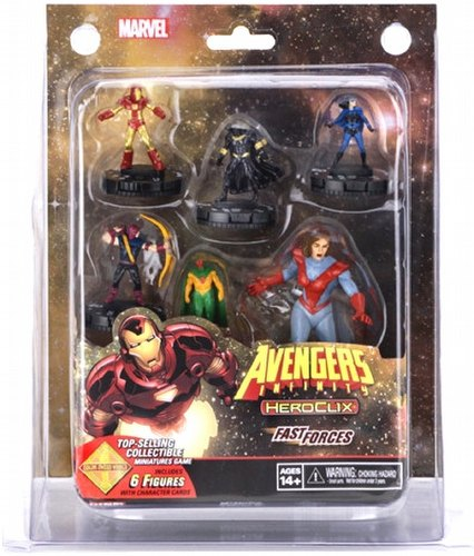 HeroClix: Marvel Avengers Infinity Fast Forces Pack