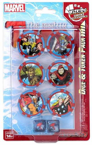 HeroClix: Marvel The Mighty Thor Dice & Token Pack