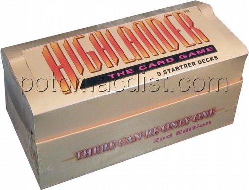Highlander: 2nd (Second) Edition Beta Starter Deck Box