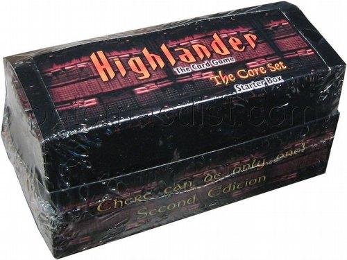 Highlander: 2nd (Second) Edition Core Set Starter Deck Box
