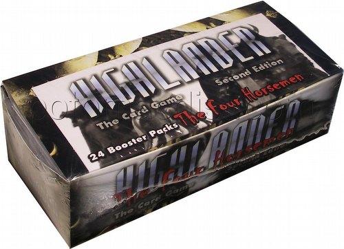 Highlander: 2nd (Second) Edition Four Horsemen Booster Box