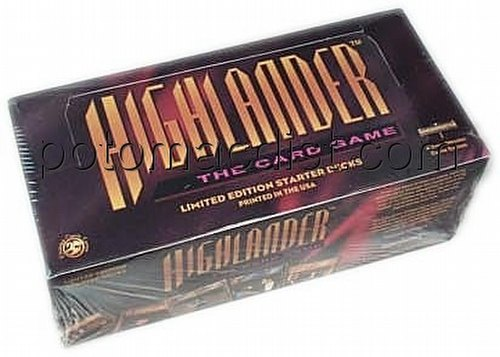 Highlander: Starter Deck Box [Limited]