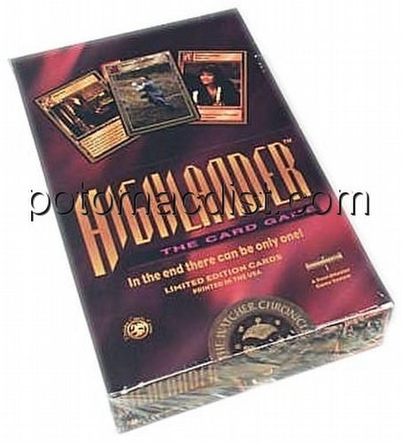 Highlander: Watcher Chronicles Booster Box