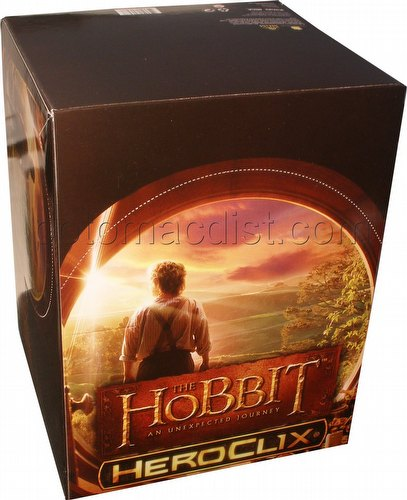 HeroClix: The Hobbit - An Unexpected Journey Counter Top Display Box