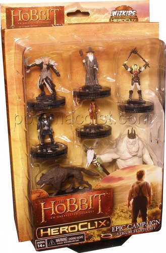HeroClix: The Hobbit - An Unexpected Journey Campaign Starter Set