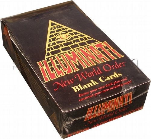 Illuminati: Blank Card Booster Box