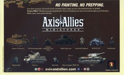 Axis & Allies Miniatures [TMG]: Starter Case [6 packs]