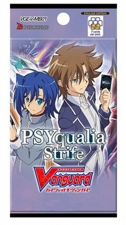 Cardfight Vanguard: PSYqualia Strife Mini Booster Box [VGE-V-MB01/English]